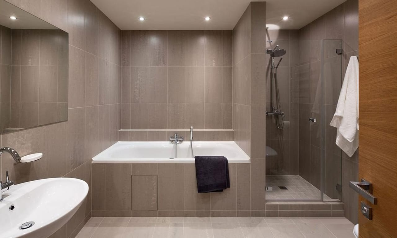 Качество ремонта ванной комнаты в деталях