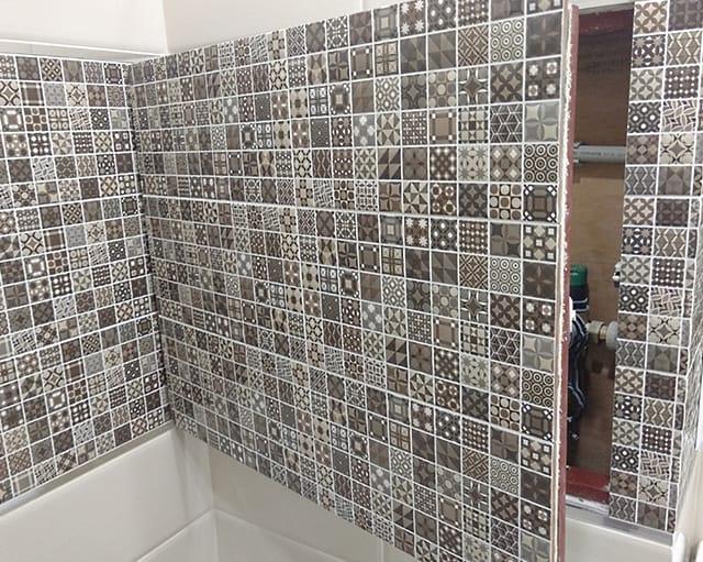 Облицовочные работы - укладка плитки и мозаики 3
