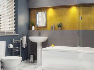 Нужен дизайн ванной комнаты