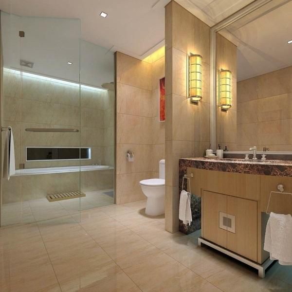 Перегородки в ванной комнате. Из какого материала лучше?